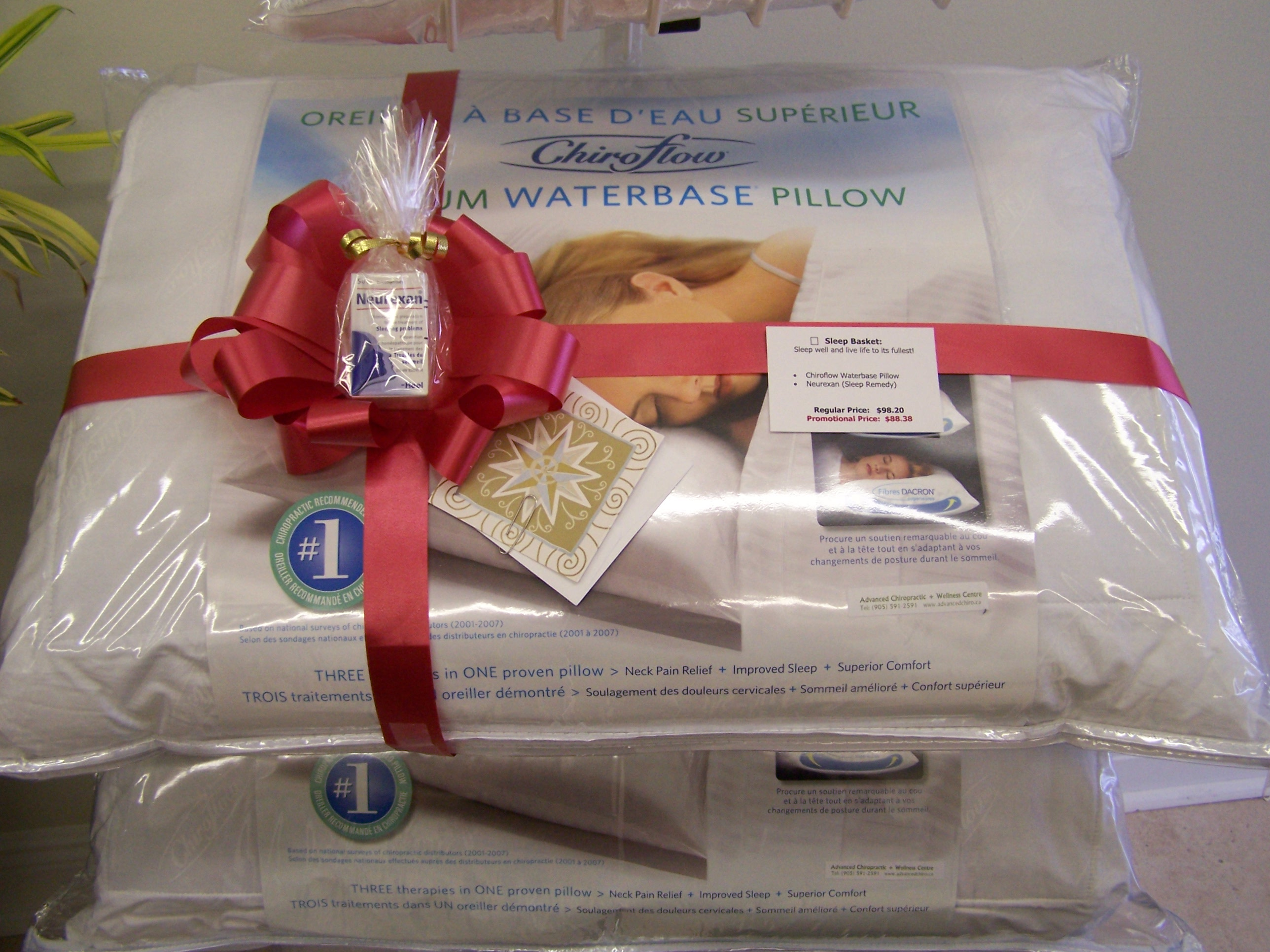2010 Holiday Gift Baskets Advanced Chiropractic
