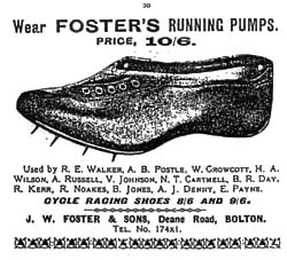 J.W. Foster and Sons Running Spikes